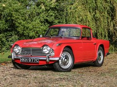 Navigate to Lot 166 - 1965 Triumph TR4A IRS (Surrey Top)