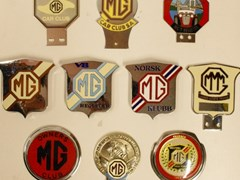 Navigate to MG badges.