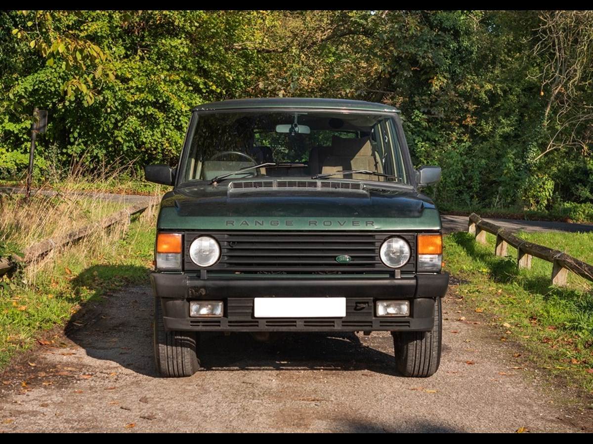 Lot 109 - 1993 Range Rover Vogue TDi