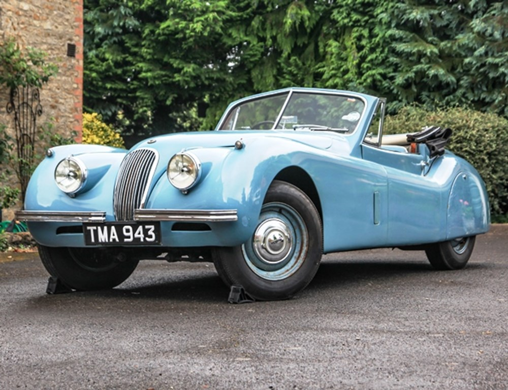 Lot 291 - 1954 Jaguar XK120 Drophead Coupé