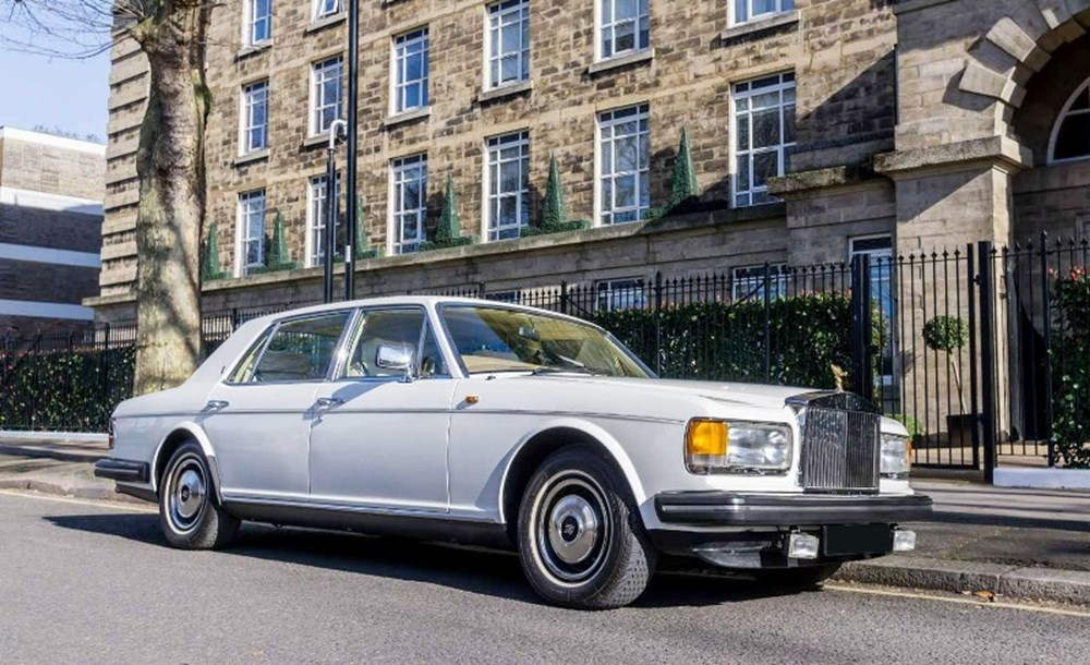 Lot 143 - 1984 Rolls-Royce Silver Spur with Division