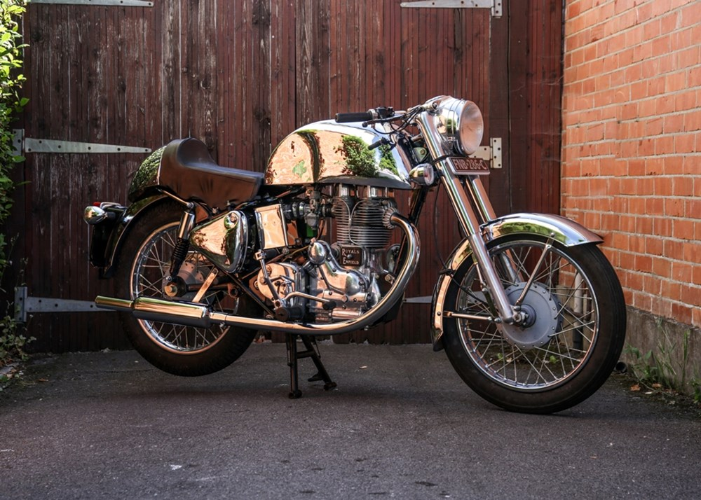 Ref 4 1965 Royal Enfield Cafe Racer (500cc)