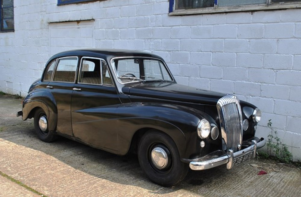 Lot 134 - 1948 Daimler Conquest Century Mk.II Saloon