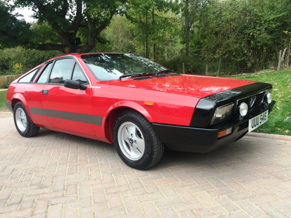 Lot 243 - 1977 Lancia Beta Montecarlo Spider Series I