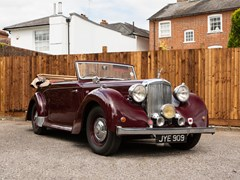 Navigate to Lot 212 - 1948 Alvis TA14 Drophead Coupé