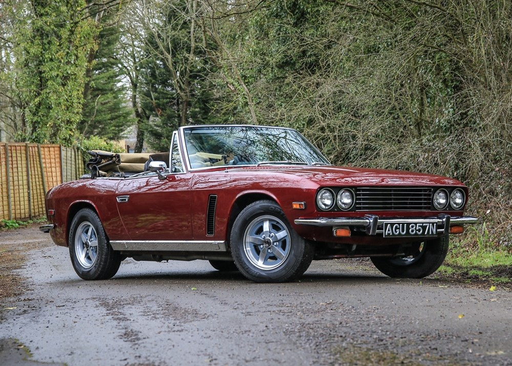 Lot 222 - 1975 Jensen Interceptor Mk. III Convertible