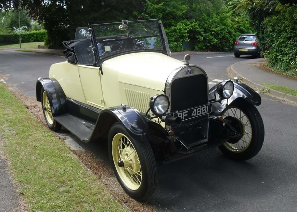 Lot 140 - 1923 Durant Runabout Star Four Tourer