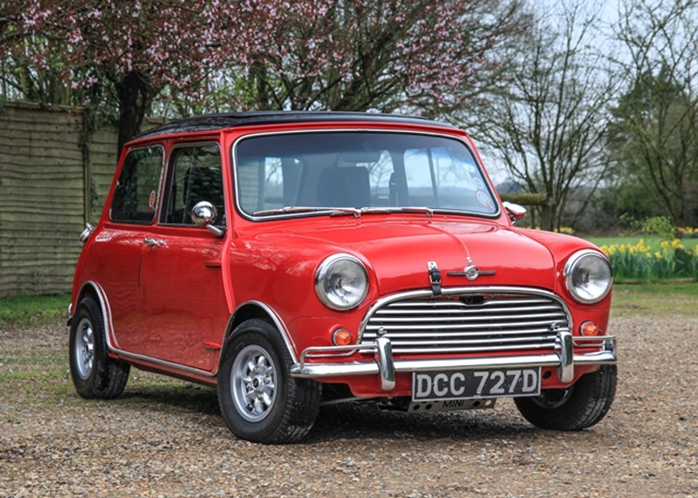 Lot 235 - 1966 Morris Mini Cooper Mk. I