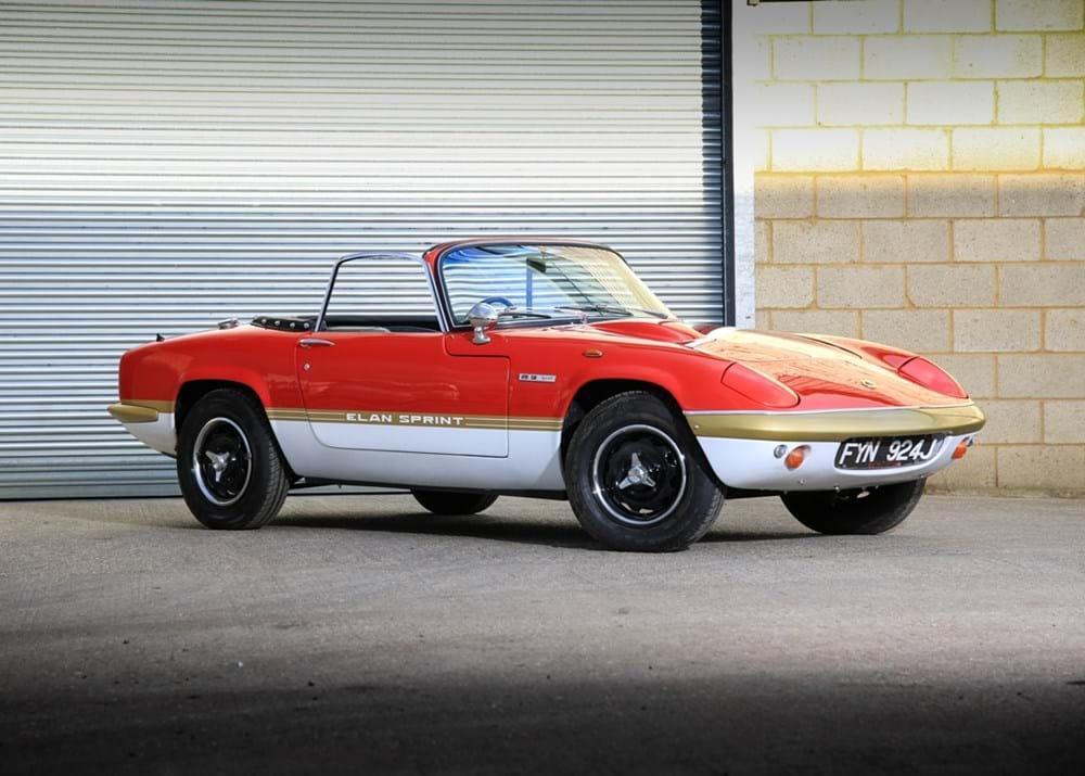 Ref 36 1971 Lotus Elan S4 Sprint