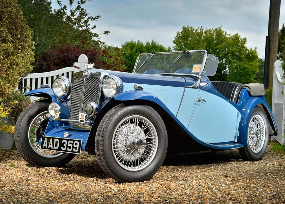 Lot 186 - 1934 MG NA Magnette