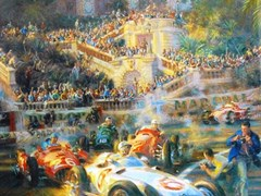 Navigate to Monaco Grand Prix Print