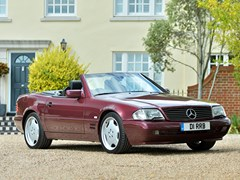 Navigate to Lot 284 - 1997 Mercedes-Benz SL 320 Roadster