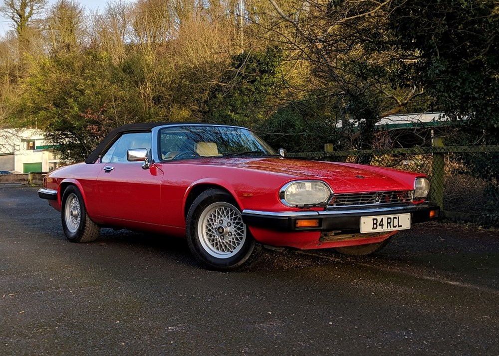 Lot 218 - 1989 Jaguar XJS Convertible (V12, 5.3 litre)