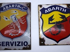 Navigate to Abarth wall plaques