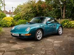 Navigate to Lot 179 - 1996 Porsche 911 / 993 Targa