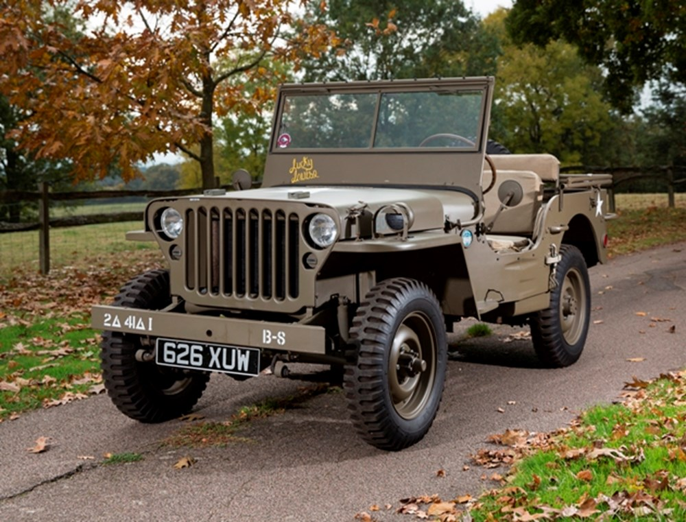 Lot 196 - 1942 Willys MB Jeep