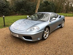 Navigate to Lot 160 - 2000 Ferrari 360 Coupé