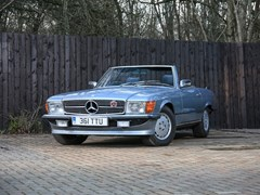 Navigate to Lot 355 - 1983 Mercedes-Benz SL 380 Roadster