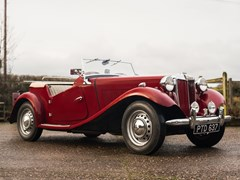 Navigate to Lot 300 - 1953 MG TD Convertible