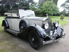 Navigate to Lot 260 - 1935 13051 20/25 Tickford Silver Jubilee Cabriolet by Salmons