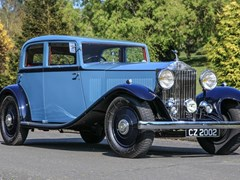 Navigate to Lot 145 - 1933 Rolls-Royce 20/25 Touring Saloon by Park Ward