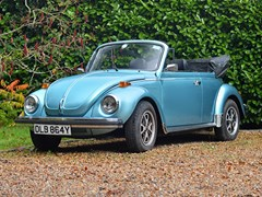 Navigate to Lot 382 - 1979 Volkswagen Beetle Convertible by Karmann *WITHDRAWN*