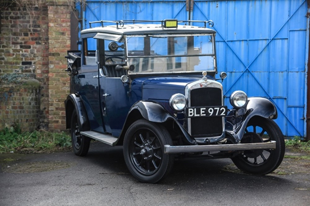 Lot 198 - 1934 Austin Heavy 12/4 Low Loader London Taxi