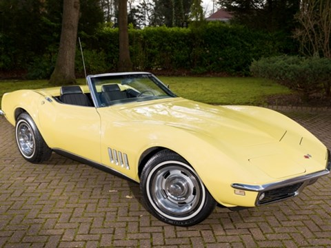Ref 98 1968 Chevrolet Corvette C3 Roadster