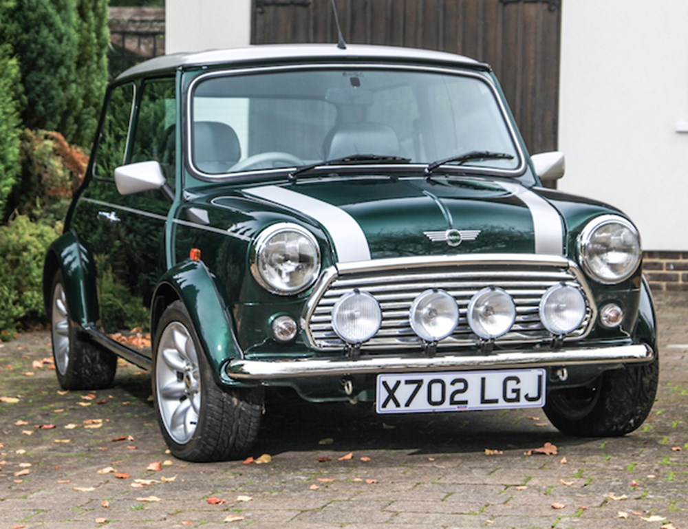 "Lot 181 - 2000 Rover Mini Cooper Sport 500 - ""Only 439 miles"""