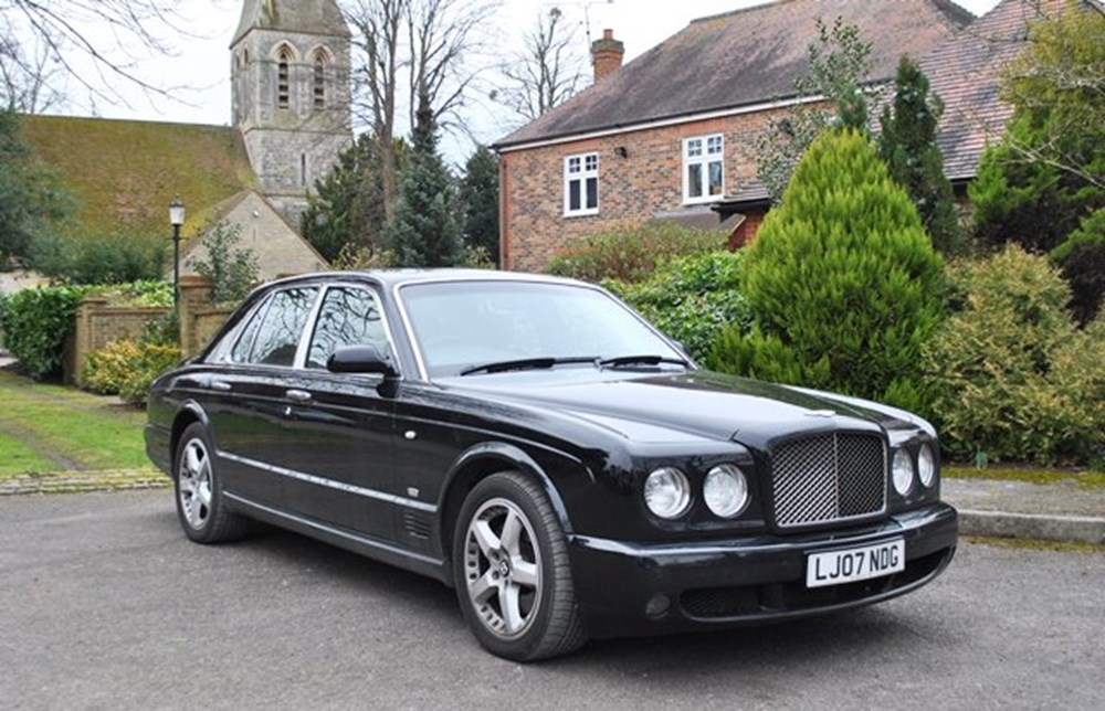 Lot 248 - 2007 Bentley Arnage T Mulliner