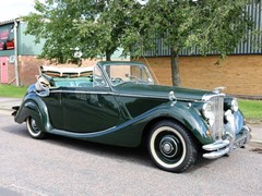 Navigate to Lot 240 - 1951 Jaguar Mk. V Drophead Coupé (3½ Litre)
