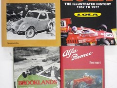 Navigate to Seven motoring books.