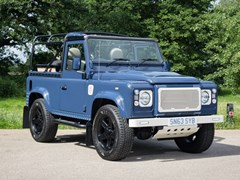 Navigate to Lot 158 - 2013 Land Rover Defender 90 custom convertible
