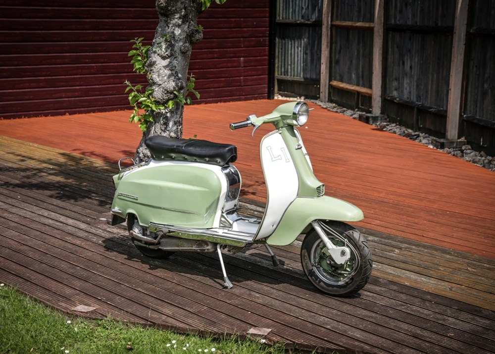 Lot 106 - 1963 Lambretta Li 125cc Series 3