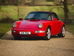 Navigate to Lot 231 - 1990 Porsche 911 / 964 Carrera 4 Targa