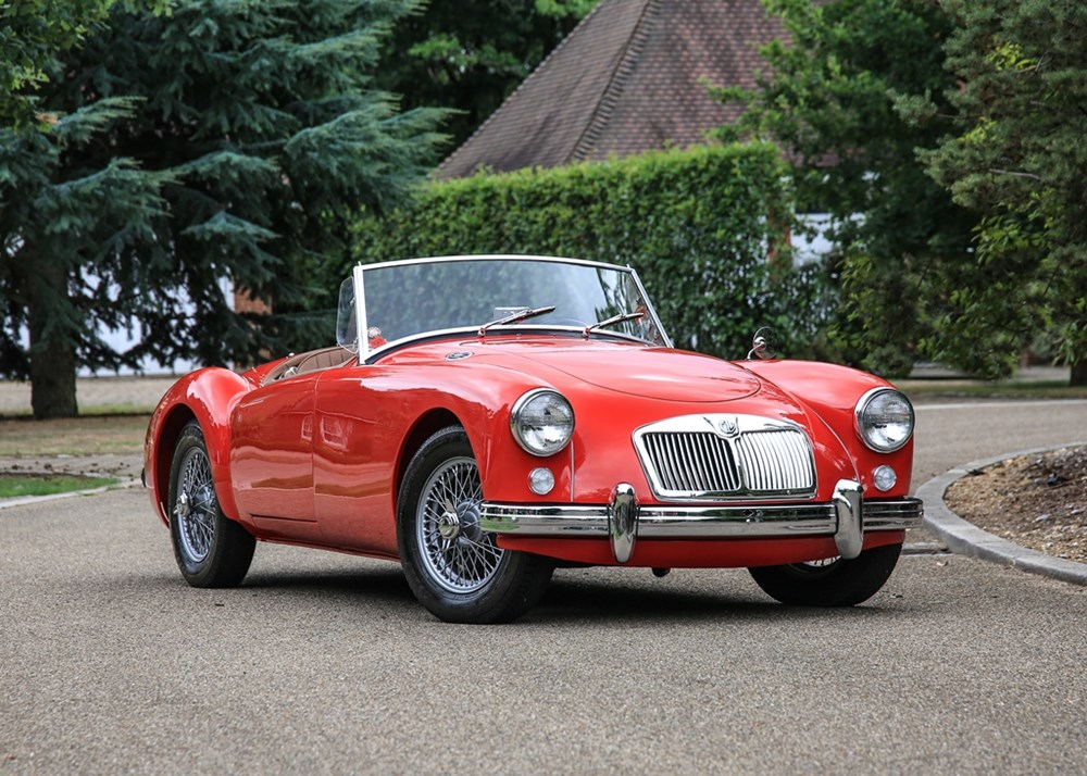 Lot 192 - 1957 MG A Roadster