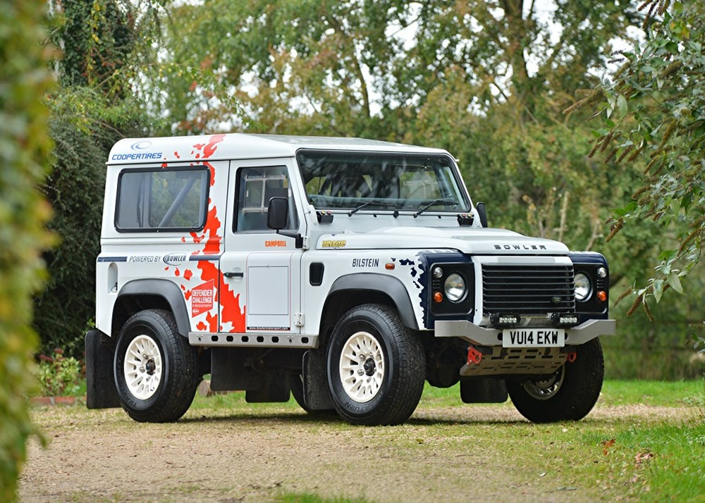 Lot 140 - 2014 Land Rover Defender Challenge by Bowler