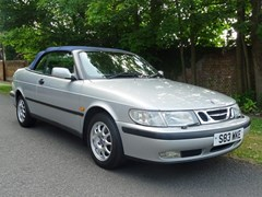 Navigate to Lot 114 - 1998 Saab 9-3 SE Convertible