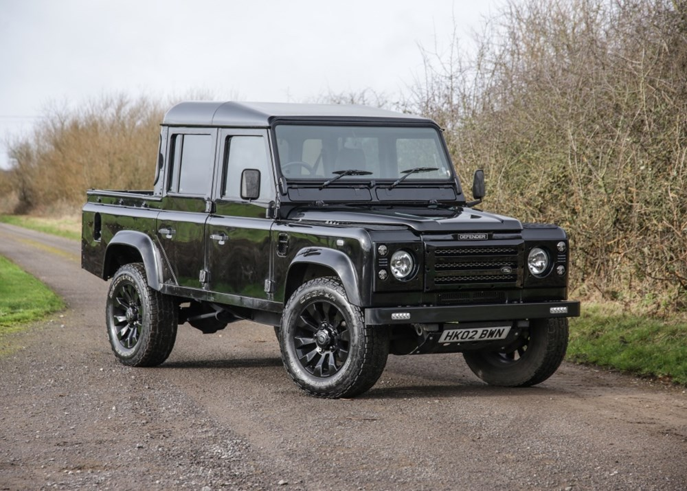 Lot 208 - 2002 Land Rover Defender 110 County Double Cab Pick-Up