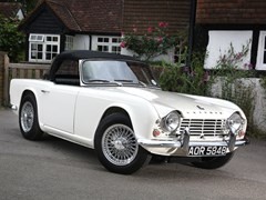 Navigate to Lot 263 - 1964 Triumph TR4 Roadster
