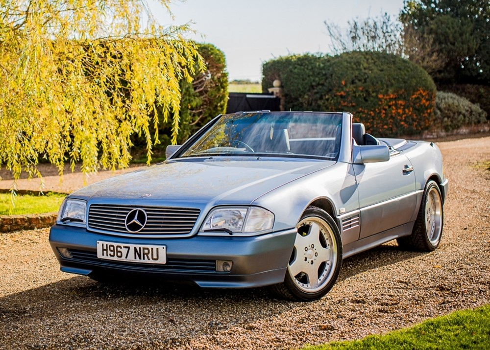 Lot 263 - 1991 Mercedes-Benz SL 500 Roadster