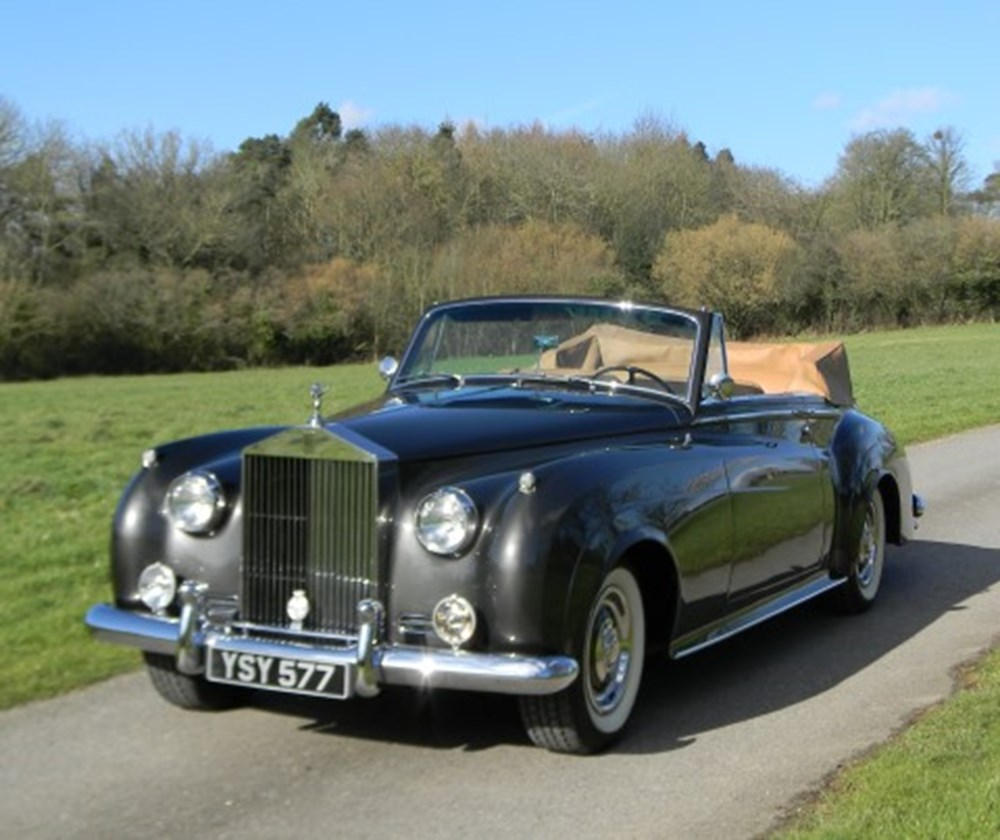 Lot 240 - 1962 Rolls-Royce II Drophead Coupé Adaptation by H.J Mulliner