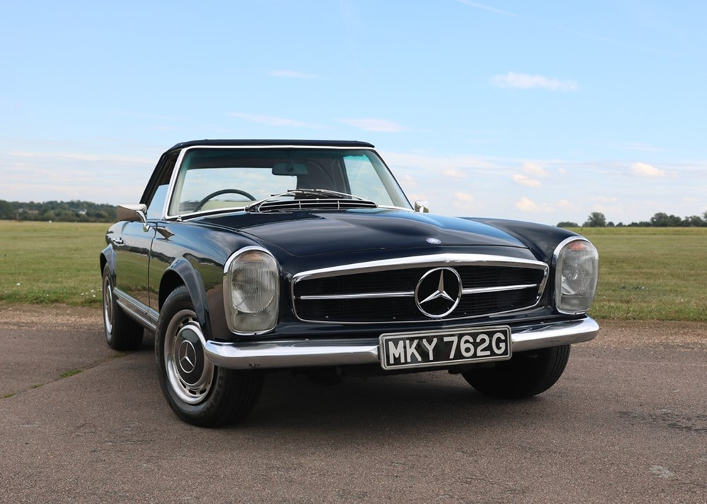 Lot 201 - 1969 Mercedes-Benz 280 SL Pagoda
