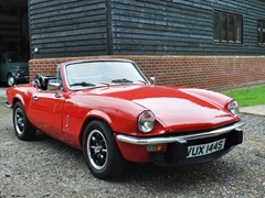 Navigate to Lot 285 - 1978 Triumph Spitfire 1500 Convertible