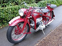 Navigate to Lot 229 - 1940 Zündapp KS600