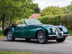 Navigate to Lot 124 - 1954 Jaguar XK120SE Drophead Coupé