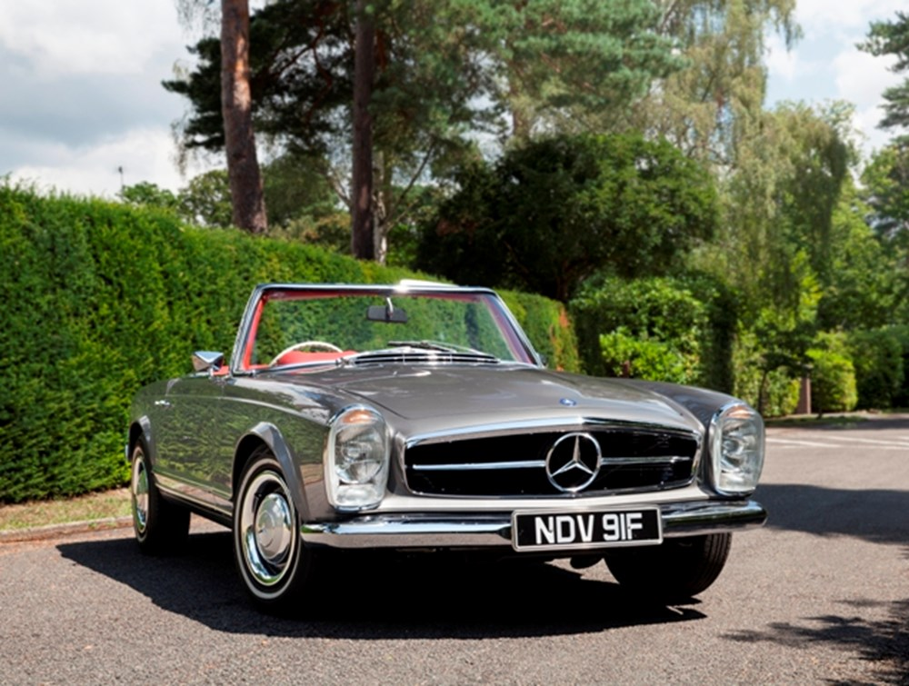Lot 316 - 1967 Mercedes-Benz 250SL Pagoda