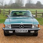 Ref 2 1985 Mercedes-Benz 380 SL Roadster -