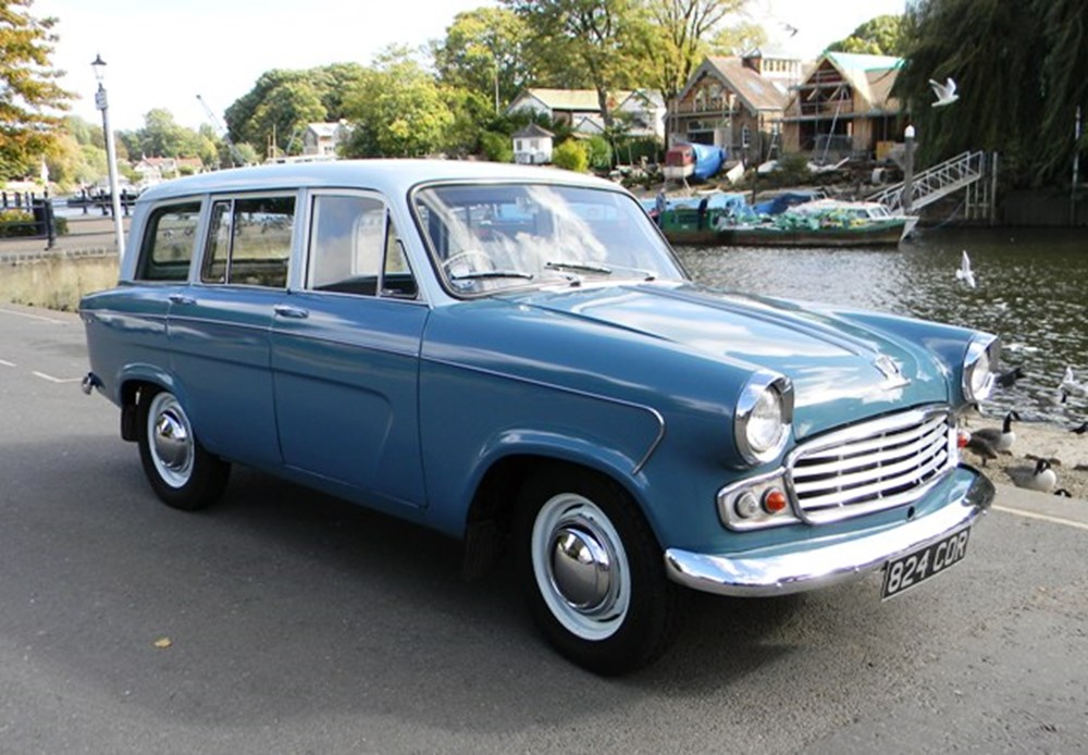 1961 standard vanguard vignale estate for Vanguard motors for sale