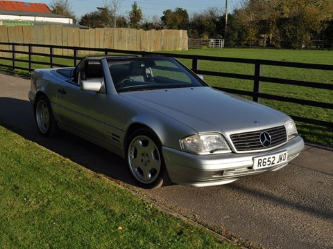 Ref 99 1997 Mercedes-Benz SL 320 Roadster
